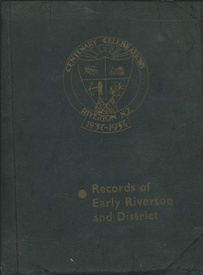 Records of Early Riverton and District