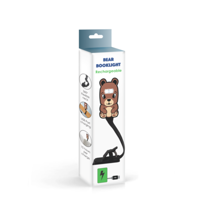Animal Booklights Rechargeable Bear