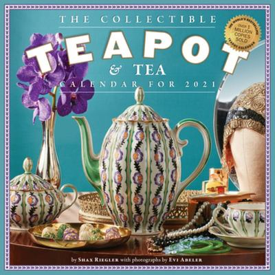 2021 Collectible Teapot and Tea Wall Calendar