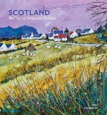 Scotland Deborah Phillips Art 2021 Wall Calendar