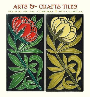 Arts & Crafts Tiles Wall Calendar 2021