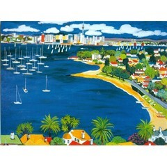 Card - Auckland Harbour OXH315
