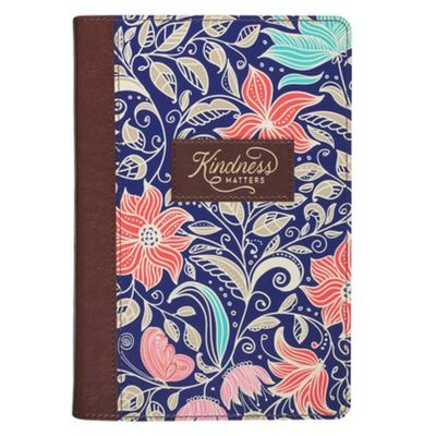 Journal Classic Floral Kindness Matters