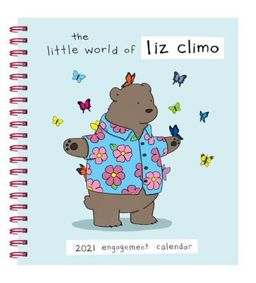 Liz Climo 2021 Engagement Calendar - (Weekly Calendar of Animal Comic Strips, Funny Animal Cartoon Planner Calendar)