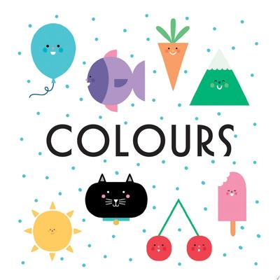 Colours (First Concept Bath Book)