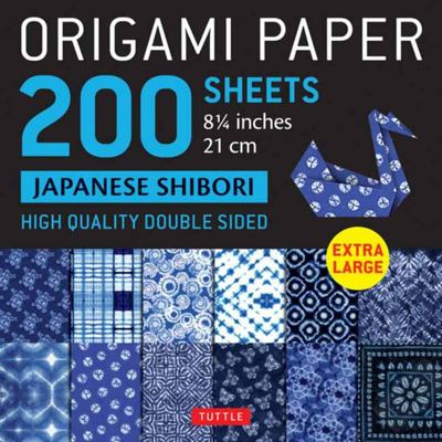 Origami Paper 200 Sheets Japanese Shibori 8. 25 ( Cm) - Tuttle Origami Paper: High-Quality Double Sided Origami Sheets Printed with 12 Different Designs (Instructions for 6 Projects Included)