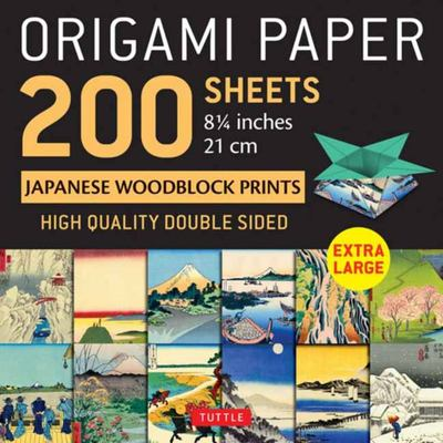 Origami Paper 200 Sheets Japanese Woodblock Prints 8. 25 - Tuttle Origami Paper: High-Quality Double Sided Origami Sheets Printed with 12 Different Prints (Instructions for 6 Projects Included)