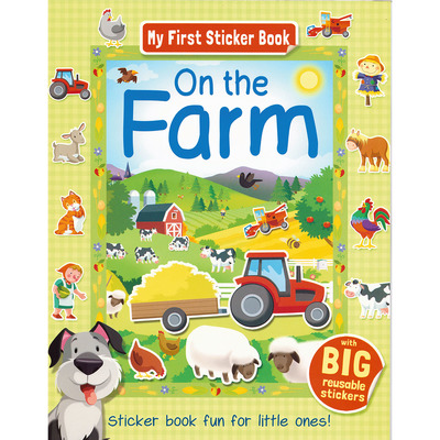 My First Sticker Book On The Farm