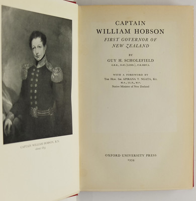 Captain William Hobson First Governor of New Zealand