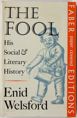 The Fool: His Social & Literary History