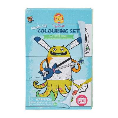 Monster Mash Mash-Up Colouring Set