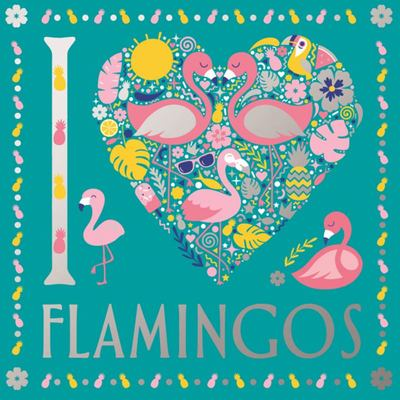 I Heart Flamingos