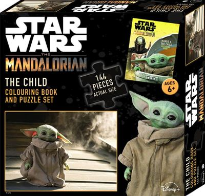 Star Wars The Mandalorian: The Child Book and Puzzle Set
