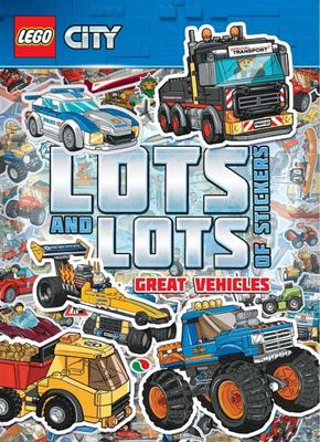 Great Vehicles (LEGO City Lots and Lots of Stickers)