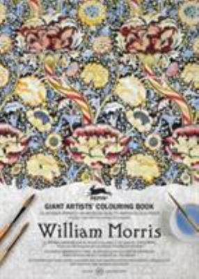 GIANT ARTISTS COLOURING BOOK WILLIAM MORRIS