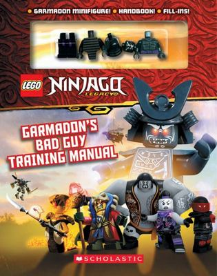 Garmadon's Bad Guy Training Manual (with Garmadon Minifigure LEGO Ninjago)