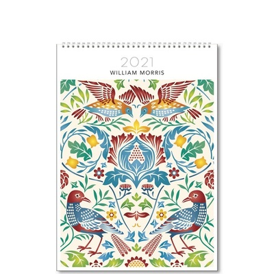 2021 William Morris Medium Calendar (B-HS-D21-WM001M)