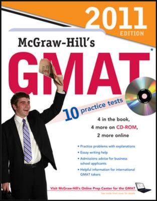 MCGRAW-HILLS GMAT WITH CD 2011 5 ED