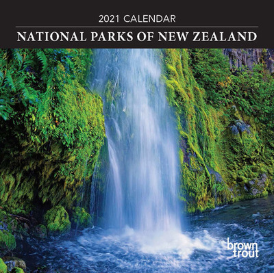National Parks of New Zealand Mini 2021 Calendar