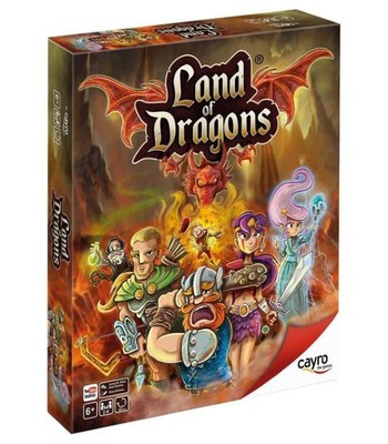 Land of Dragons Board Game