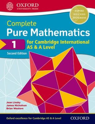 Complete Pure Mathematics 1 for Cambridge International AS and a Level