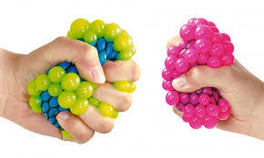 Colour Changing Squishy Mesh Ball