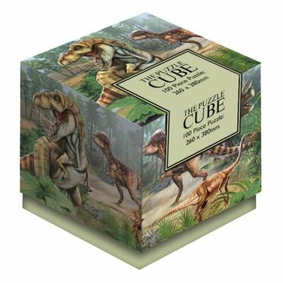 Dinosaurs: The Puzzle Cube 100pc Jigsaw