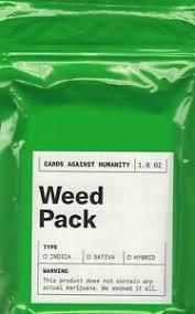 Weed Pack Cards Against Humanity