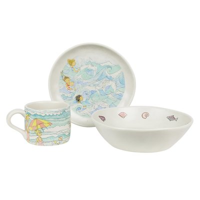 Magic Beach - Childrens Dinner Set - Alison Lester