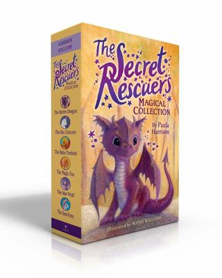 The Secret Rescuers Magical Collection - The Storm Dragon; the Sky Unicorn; the Baby Firebird; the Magic Fox; the Star Wolf; the Sea Pony