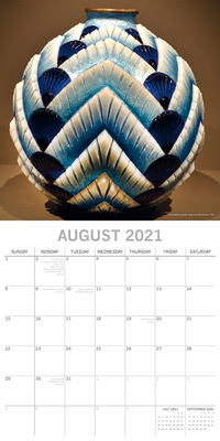 16 Month Calendar 2021: Art Deco