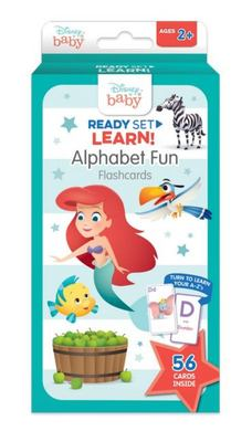 Disney Baby: Ready Set Learn! Alphabet Fun Flash Cards