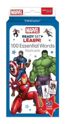 Marvel: Ready Set Learn! 100 Essential Words Flash Cards