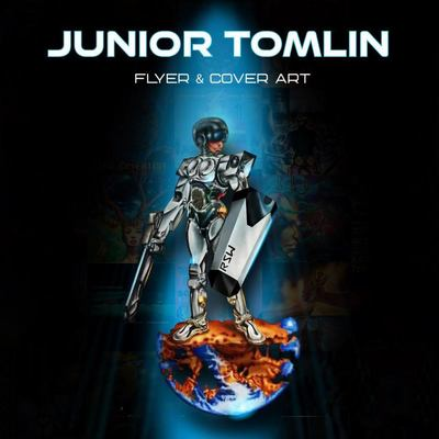 Junior Tomlin - Flyer and Cover Art