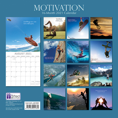16 Month Calendar 2021: Motivation