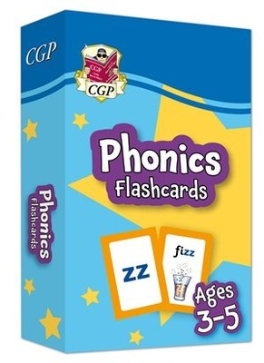 New Phonics Flashcards for Ages 3-5: perfect for back-to-school practice Ideal for learning at home
