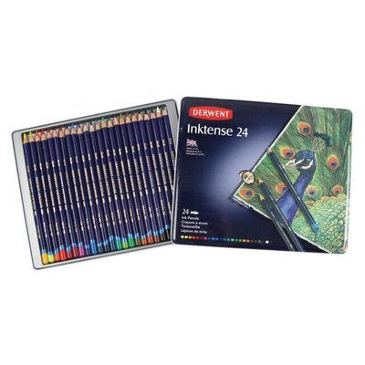 Derwent Inktense Pencils 24 Pack