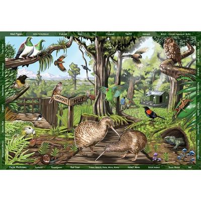 The NZ Forest Seek & Find Puzzle (300pc XL)
