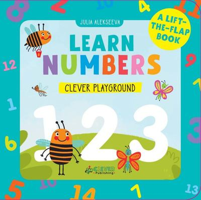 Learn Numbers - A Lift-The-Flap Book