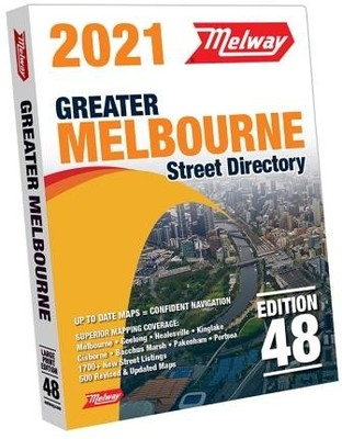 Melway Melbourne Street Directory 2021 48th Edition (MS48)