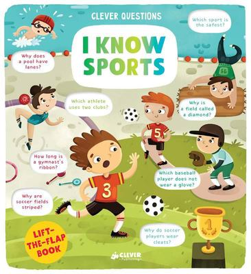 I Know Sports - Lift-The-flap Book
