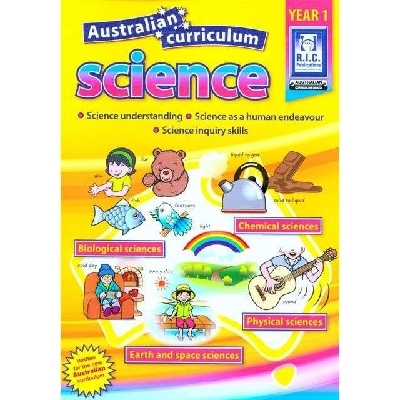 Australian Curriculum Science - Year 1 Ages 6-7