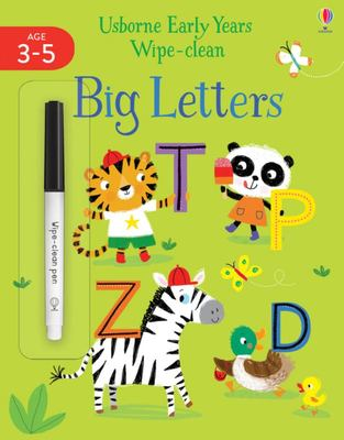 Big Letters (Early Years Wipe-Clean)