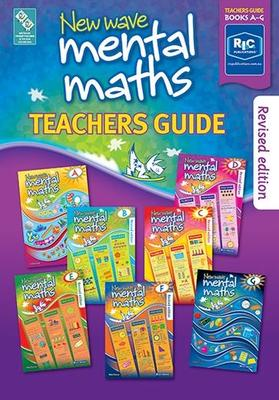 Large 88487 new wave mental maths teachers guide ages 5 11