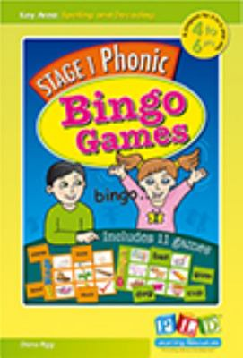Stage 1 Phonic Bingo Games - Includes 11 Games