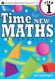 Time For New Maths Australia Book  1