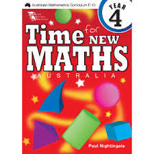 Time For New Maths Australia Book 4