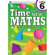 Time For New Maths Australia Book 6