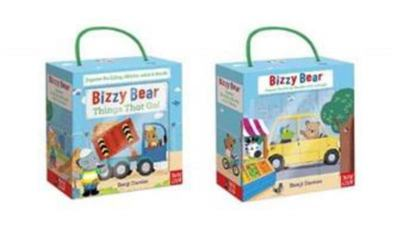 Bizzy Bear: Book and Blocks Set