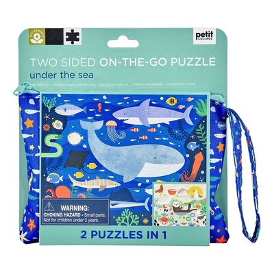 Under the Sea - Two sided On-the-go puzzle